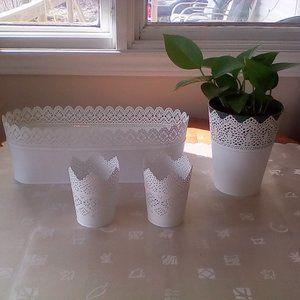 Ikea Planters Set of 5
